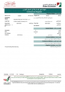 12._Square_Precast_Factory_Dubai-Commercial_Register