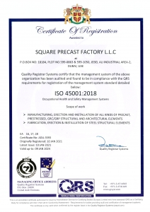 SPF ISO 14001 - 2018 CERTIFICATE